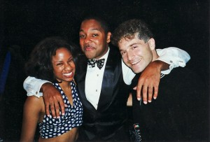 Paolo and Janice with Wynton Marsalis 2000