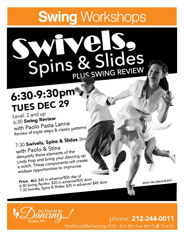 Swivels Spins Slides Stina 8X10